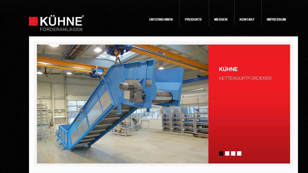 Onlinerelaunch www.kuehne.com