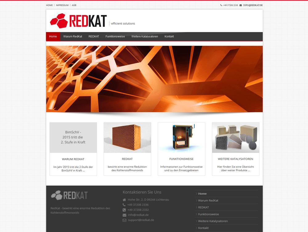 Marken- und Onlinerelaunch REDKAT