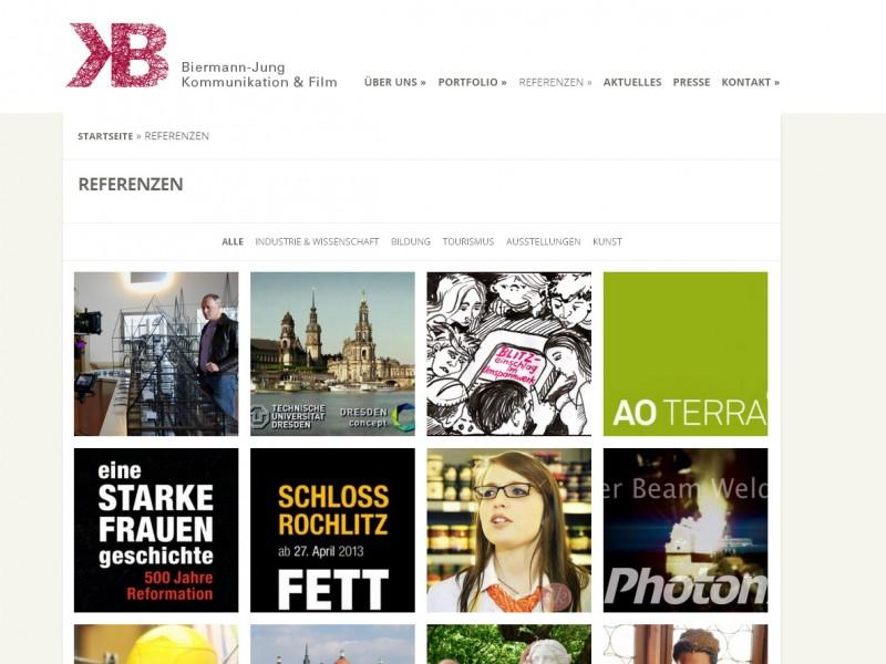 Biermann-Jung Kommunikation & Film