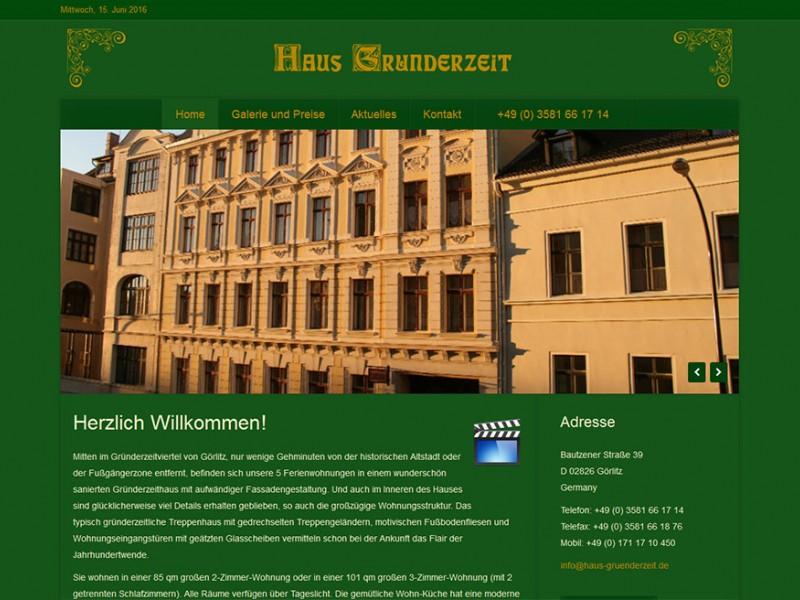 Haus Gründerzeit